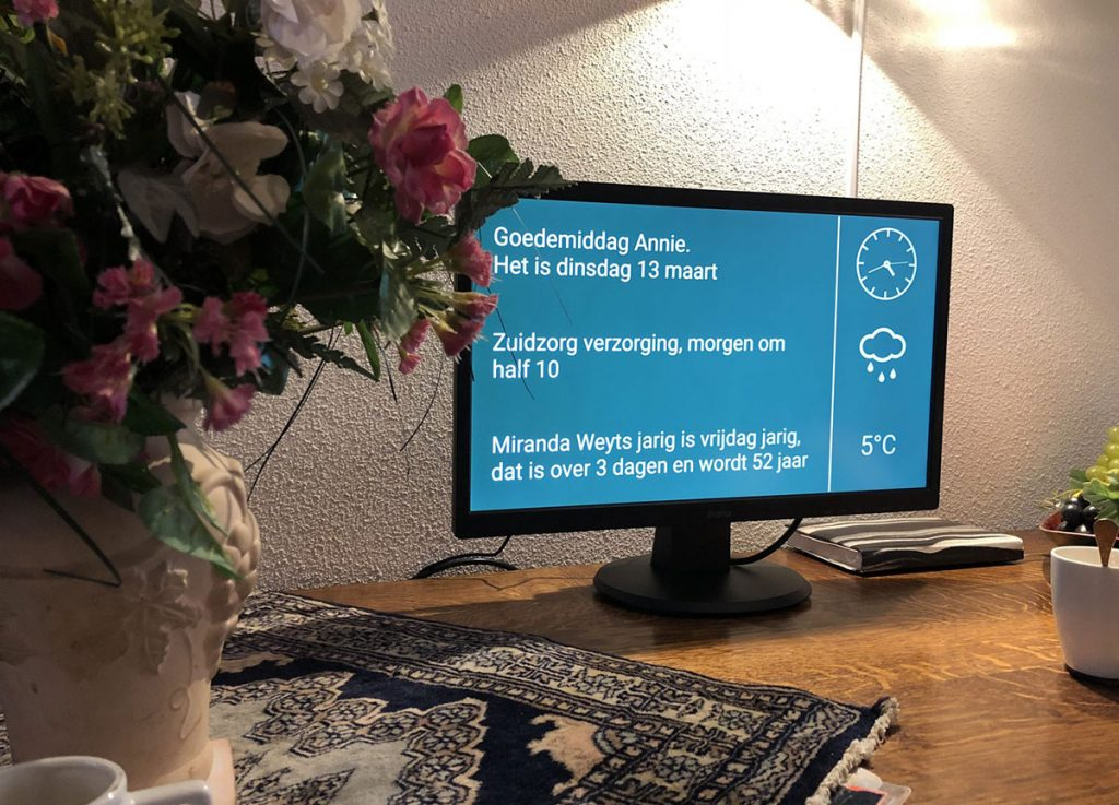Spiqle Digitale Agenda thuis